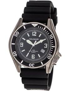 watches: Hallmark Black Resin Gents Watch!
