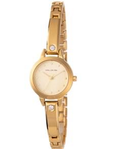 watches: Hallmark Round Gold Dial Ladies Watch!
