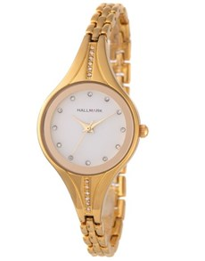 watches: Hallmark Ladies Tapper Bangle Strap Watch!