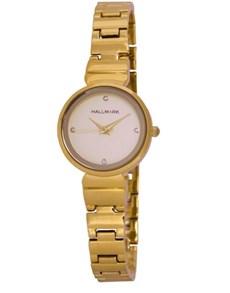 watches: Hallmark Round Gold Ladies Watch!