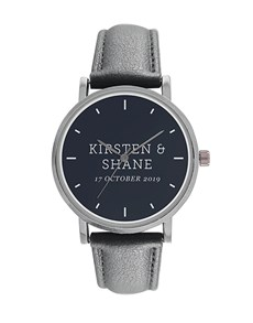 gifts: Digitime 40mm Personalised Names Watch!