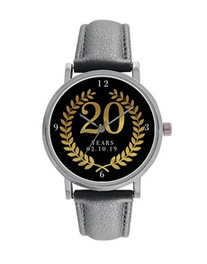 gifts: Digitime 20 Years Personalised Date Watch!