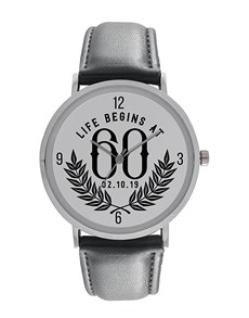 gifts: Digitime Life Begins at 60 Personalised Watch!
