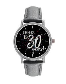 gifts: Digitime Cheers to 30 Years Personalised Watch!
