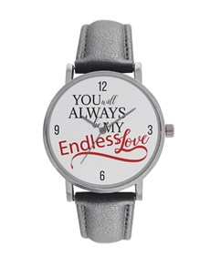 jewellery: Personalised My Endless Love Digitime Watch!