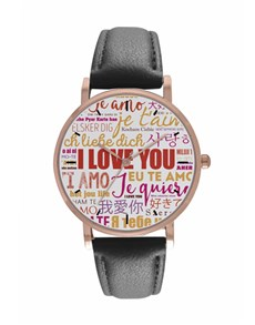 jewellery: Personalised I Love You Digitime Watch!