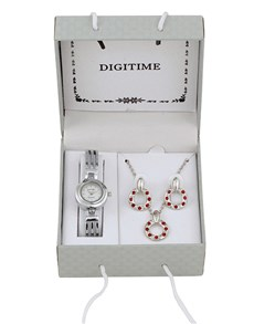 watches: Digitime Ladies Watch and Jewellery Set!