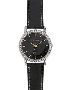 watches: Digitime Plush Black Watch !