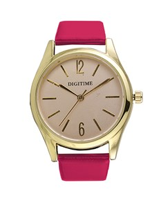 watches: Digitime Timeless Pink and Gold Watch!