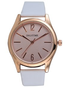watches: Digitime Timeless Rose Gold Ladies Watch !