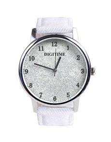watches: Digitime Ladies White Jean Watch!