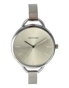 watches: Digitime  Silver Chiffon Ladies Watch!