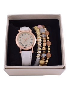 watches: Digitime White Daisy Watch and Jewellery Set!