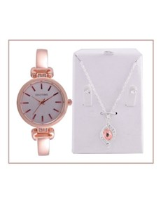 watches: Digitime Ladies Watch with Jewellery Set!