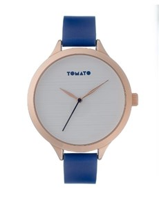 watches: Tomato Ladies Rose and Navy Strap Watch!