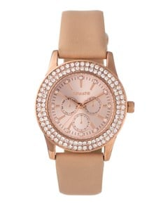 watches: Tomato Ladies 38mm Rose Nude Watch!