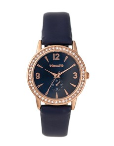 watches: Tomato Ladies 35mm Navy Dial Watch!
