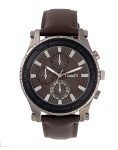 watches: Tomato Gents 45mm Brown Dial Watch!