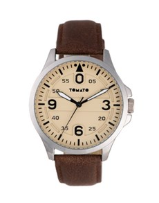 watches: Tomato Beige and Black Gents Watch!