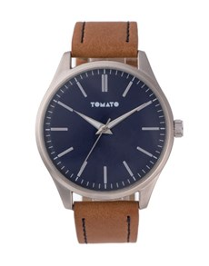 watches: Tomato Brown Strap Gents Watch!