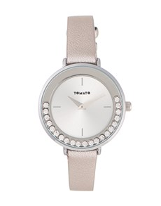 watches: Tomato 33mm  Ladies Silver Dial Watch!