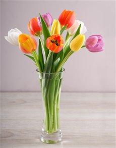 flowers: Seasonal Tulips in a vase!