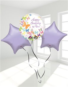 Picture of Happy Birthday Butterfly Balloon Bouquet!