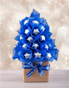 flowers: Blue and Silver Edible Tree!