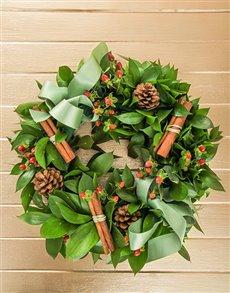 flowers: Seasonal Wreath!