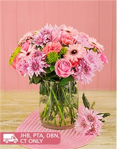 flowers: Chrysanthemum and Flower Mix!