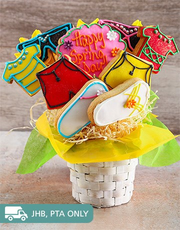 bakery: Almost Summer Cookie Bouquet!