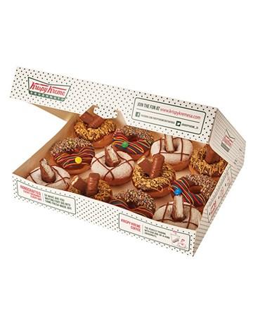 doughnuts: Krispy Kreme Chocolate Shop Combo!