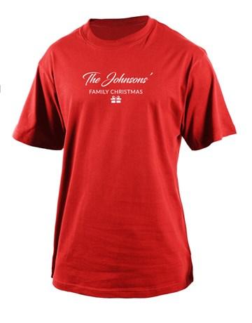 christmas: Personalised Family Christmas Mens T Shirt!