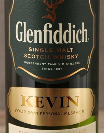 personalised: Personalised Glenfiddich 12yr!