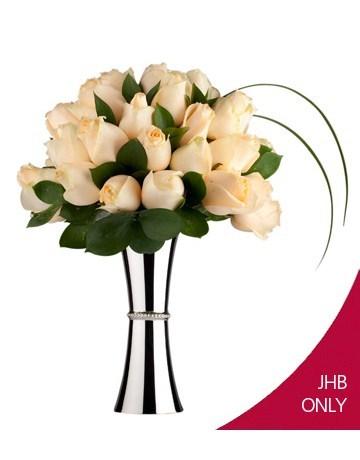 flowers: Cream Rose Elegance!