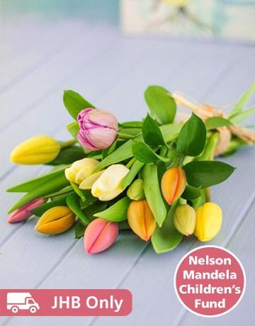 flowers: Tulip Bouquet!
