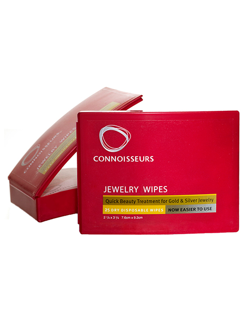connoisseurs: Jewellery Wipes !