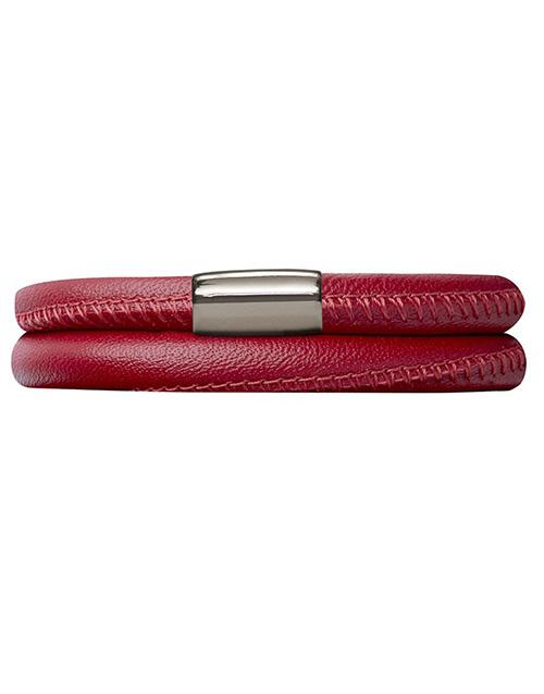 endless: Ruby Endless Double Leather Bracelet 38cm!