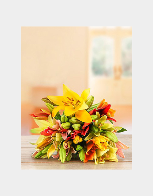 bouquets: Lily Love Mix!