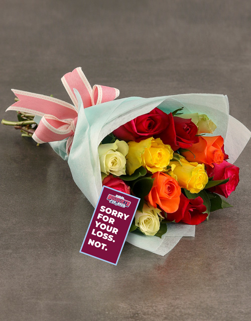 roses: Aston Villa Bouquet!