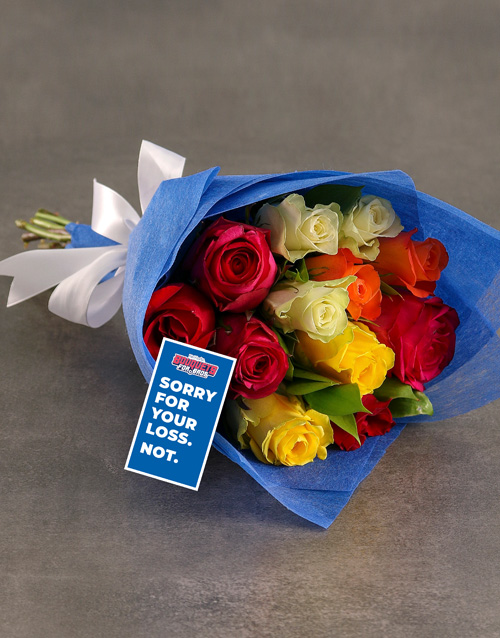 roses: Brighton And Hove Albion Bouquet!