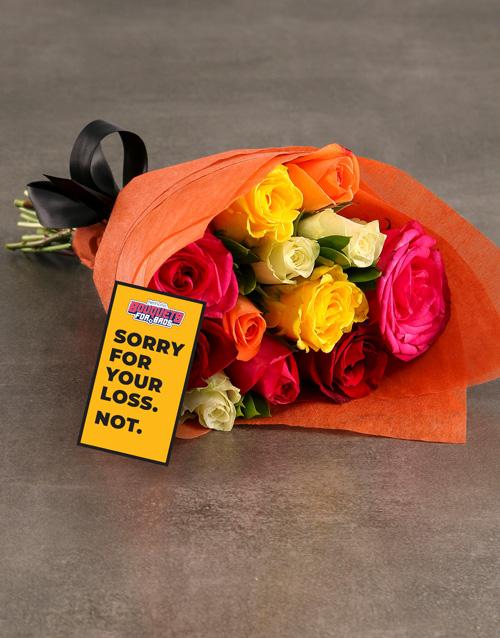 roses: Wolverhampton Bouquet!
