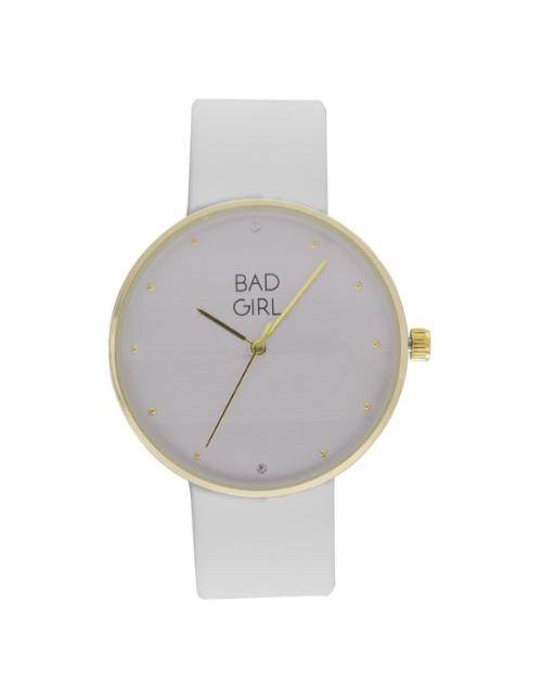 birthday: Bad Girl Aurora White Analogue Watch!