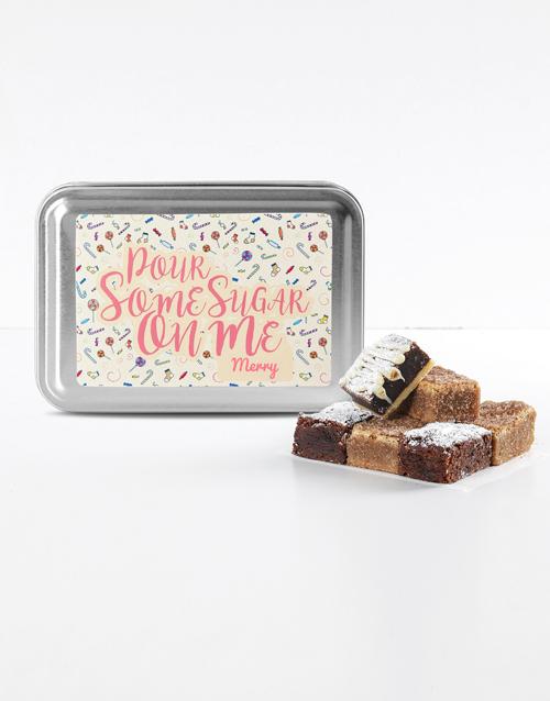 brownies: Personalised Date Night Sweet Tooth Brownie Tin!