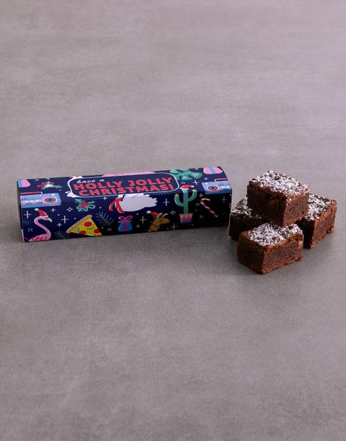 brownies: Personalised Holly Jolly Brownies!