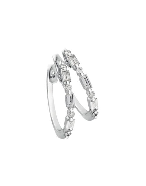 anniversary: 9KT White Gold Diamond Eternity Earrings!