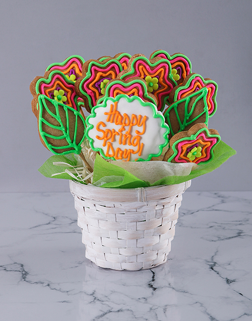 bakery: Spring Time Cookie Bouquet!