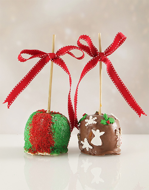 bakery: Sparkly Chocolate Apple Combo!