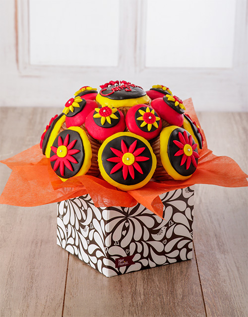bakery: Congratulations Cupcake Bouquet!