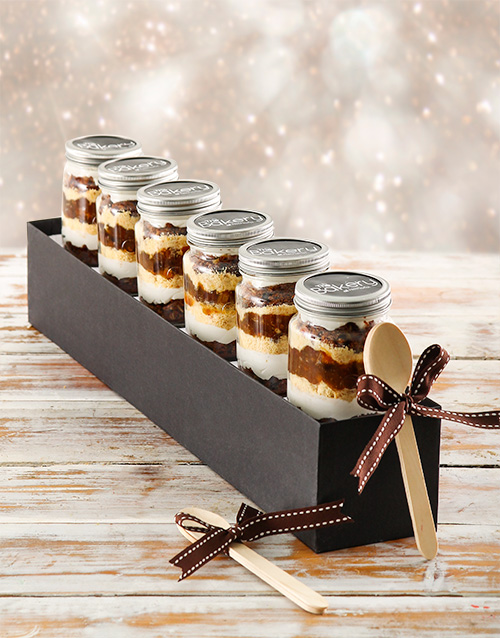 year-end: Mince Pie Cupcakes in a Jar!
